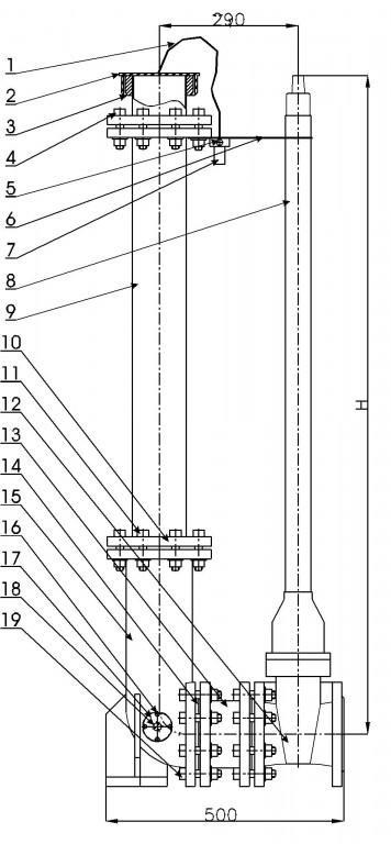 Подземный пожарный гидрант Н-1